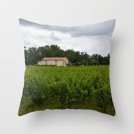 vineyards Throw Pillow