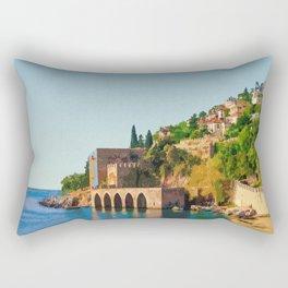 Visit Antalya Rectangular Pillow