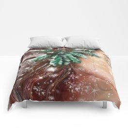 """Yuletide Spirt"" Comforters"