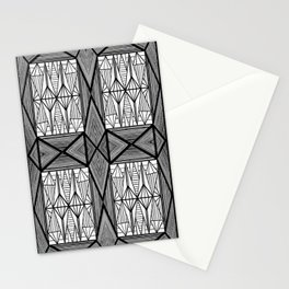 Diamonds and Octagons Stationery Cards