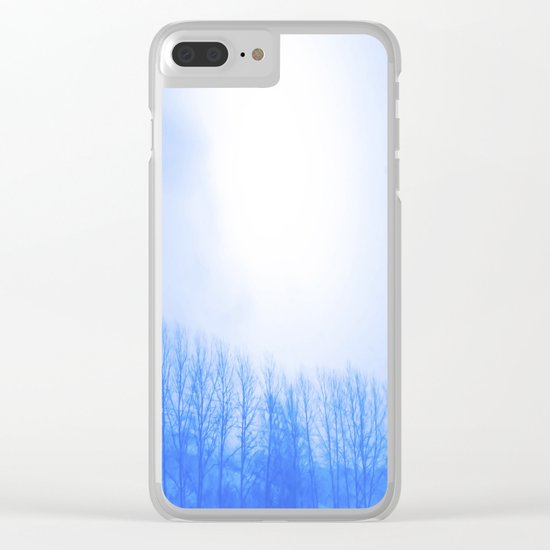 Winter 7 Clear iPhone Case