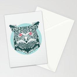 Vintage Owl Stationery Cards