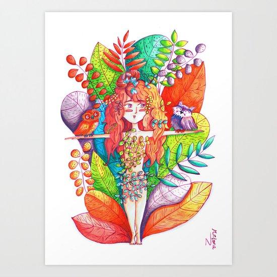 Natural Balance Art Print