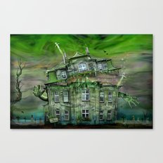 The Ghosthouse Canvas Print