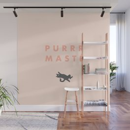 Namaste peach Wall Mural