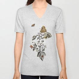 Insect Toile Unisex V-Neck