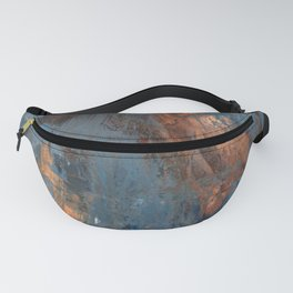 Human and Blue Fanny Pack