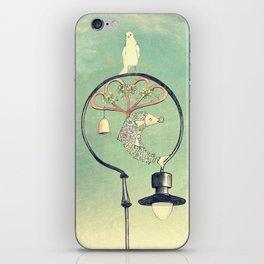 Glasgow Streetlamp iPhone Skin