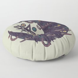 The Dark Moon Compels You to Fuck Shit Up Floor Pillow
