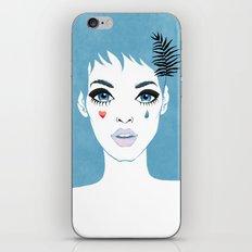Сrying girl iPhone Skin