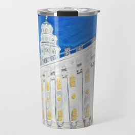 Nauvoo Illinois LDS Temple Travel Mug