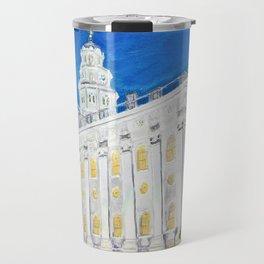 Nauvoo Illinois LDS Temple Travel Mug