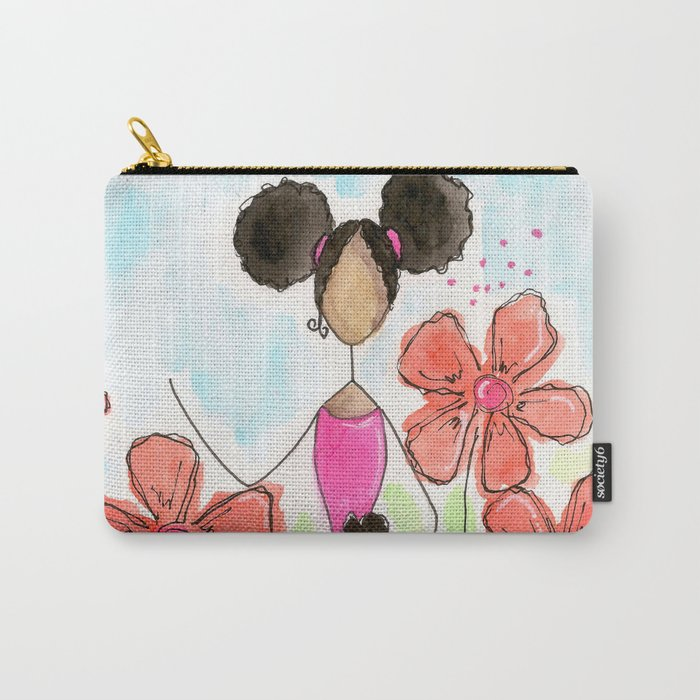 Tia, Hey Girl! Carry-All Pouch