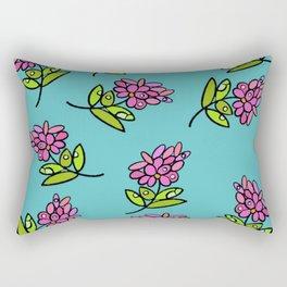 Pink Posie Rectangular Pillow
