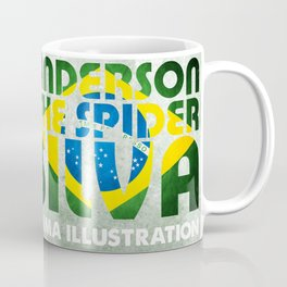 Anderson Silva Artwork Coffee Mug