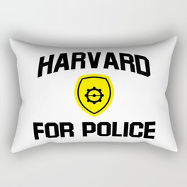harvard for police Rectangular Pillow