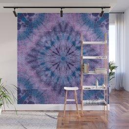 Purple Tie Dye Wall Mural