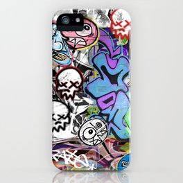 Graffiti is art. iPhone Case