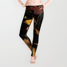 Autumn Poetry Leggings