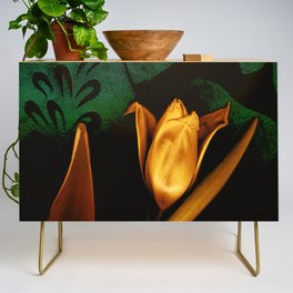 Tulips of the golden age Credenza