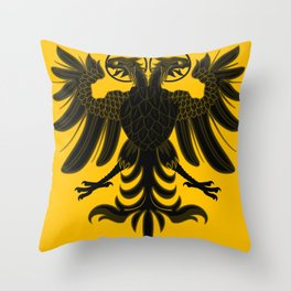 Sacred Roman Empire Eagle Throw Pillow