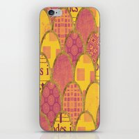 scales iPhone & iPod Skins featuring Scales by Sweet Colors Gallery