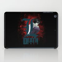 death note iPad Cases featuring Death Note by feimyconcepts05