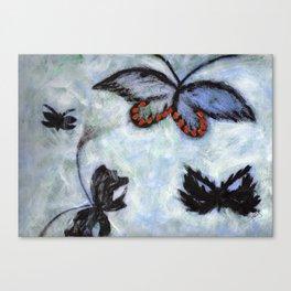 Sueños Negros Canvas Print