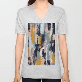 Amelia Abstract Unisex V-Neck
