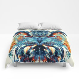Owl - Colorful Animals Comforters