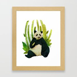 Giant Panda Bear Framed Art Print