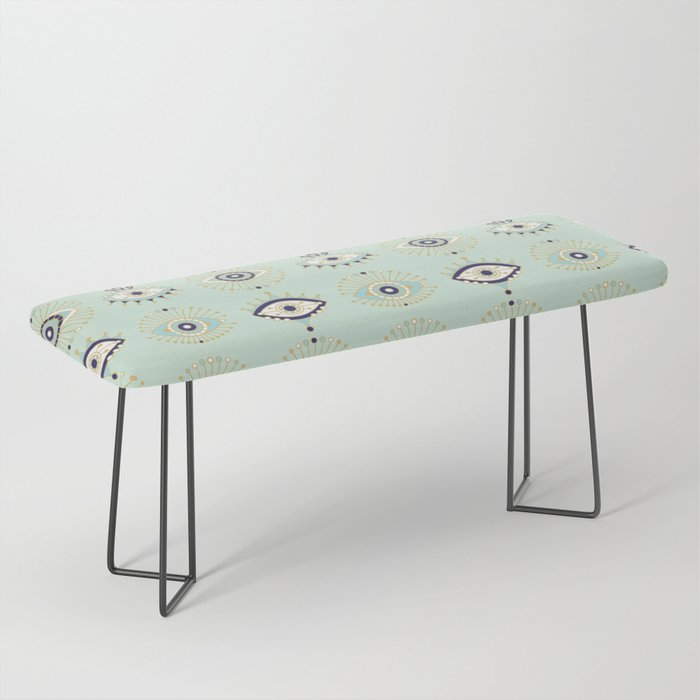Evil Eye Collection Bench