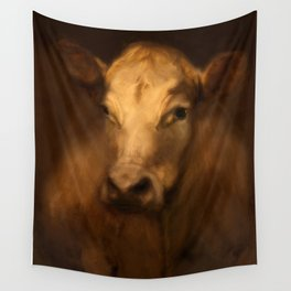 Cow 25 Wall Tapestry