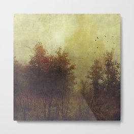 Fall Rust Metal Print