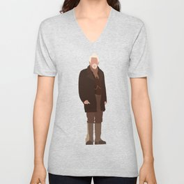 The War Doctor: John Hurt Unisex V-Neck