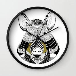 Cul Noir Wall Clock