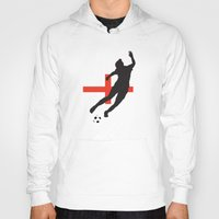 england Hoodies featuring England - WWC by Alrkeaton