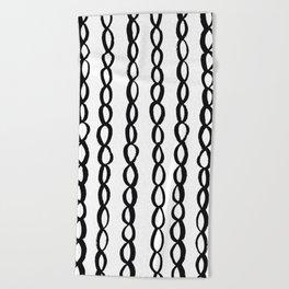 Chain Chain Chain Beach Towel