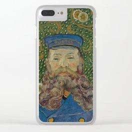 Portrait of Joseph Roulin by Vincent van Gogh Clear iPhone Case