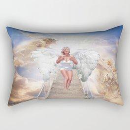 MM - angel Rectangular Pillow