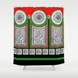 Grecian Holiday  Shower Curtain