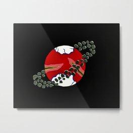 Planet Solaris Eschara Metal Print