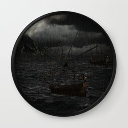 """Calm Waters""  Wall Clock"