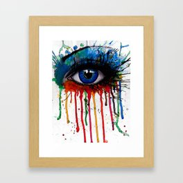 See My Soul Framed Art Print
