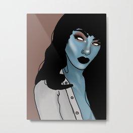 Arielle bloo Metal Print