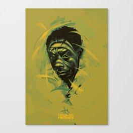 James Baldwin Portrait Canvas Print