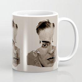 FRIDA - SHIRT version - sepia Coffee Mug