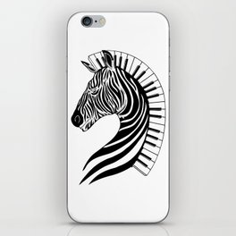 Zebra Clef iPhone Skin