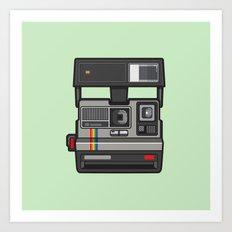 #43 Polaroid Camera Art Print