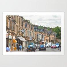 Dale Road - Matlock Art Print